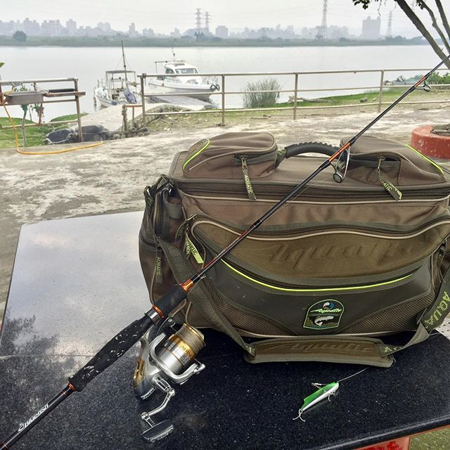 When need lot of things in boat. by @aquatictackle Когда и нужно много уместить.