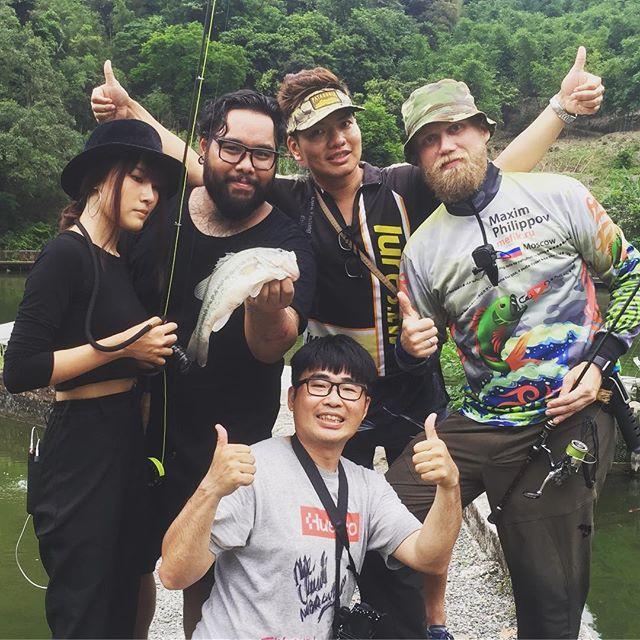 Just with @biebie_retro @hsiehshihyung @fishing_traveler просто