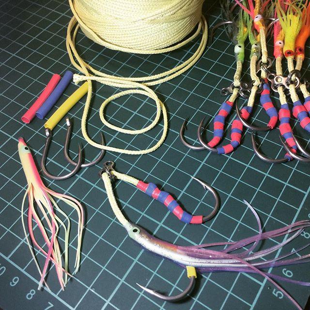 Вяжем вяжем, перевяжем. Можно ли связать хорошие ассисты из китайского кевларового шнура? Can we tie good assists with Kevlar braided line from China?